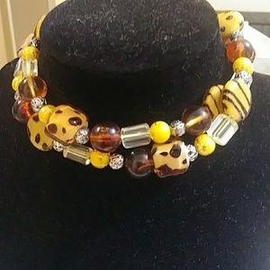 Fashion necklace stretch